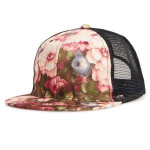 💚3/$20! 🆕 NWT Floral SnapBack Trucker Hat
